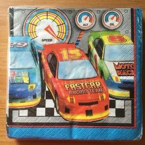 Racing Race Car Party Napkins Birthday